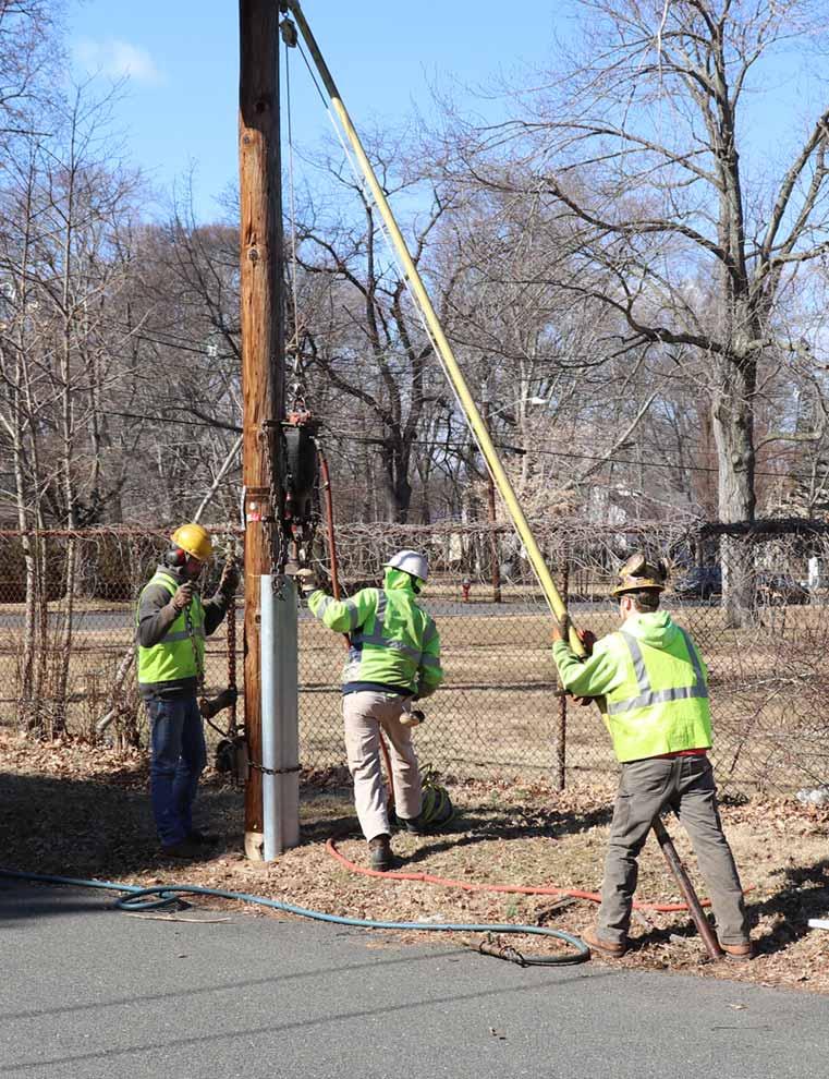 Alamon Utility Pole Reinforcement