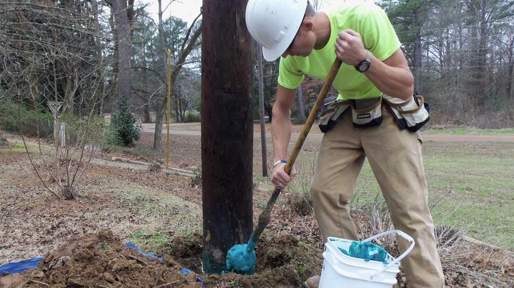 Alamon Wood Utility Pole Treatment