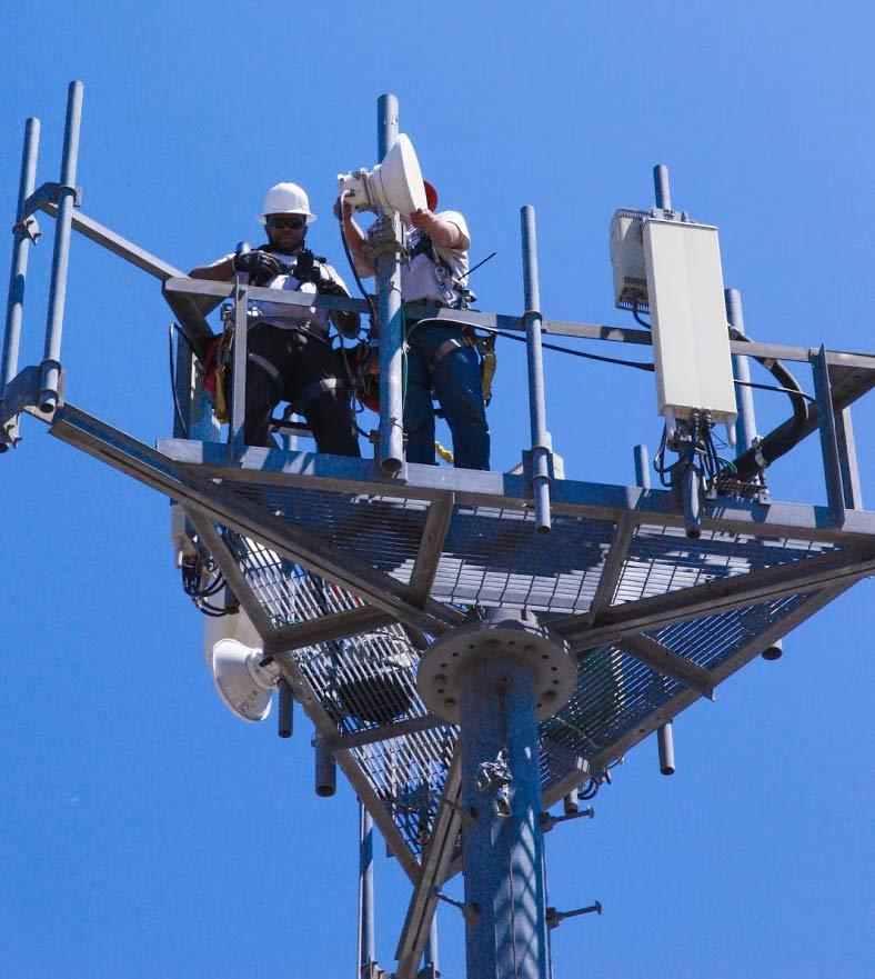 Alamon Wireless Services - Microwave Installation