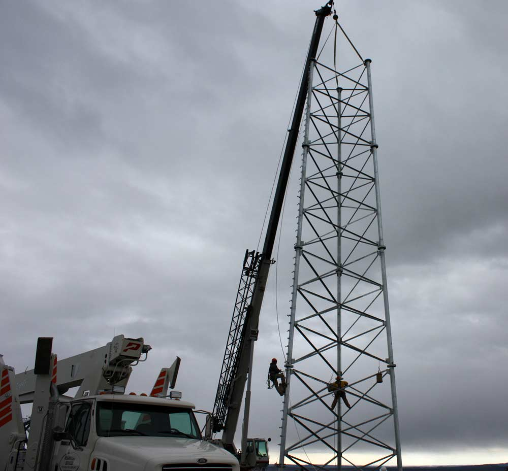 Alamon Wireless Services - Tower Construction