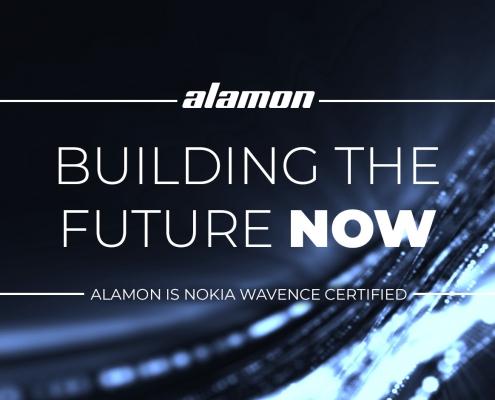 Alamon Microwave Techs add Nokia Wavence Certification